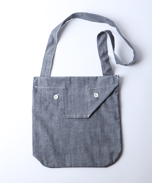 Engineered Garments SldPouch - chambray -