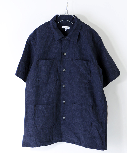 Engineered Garments Camp Shirt Jacquard