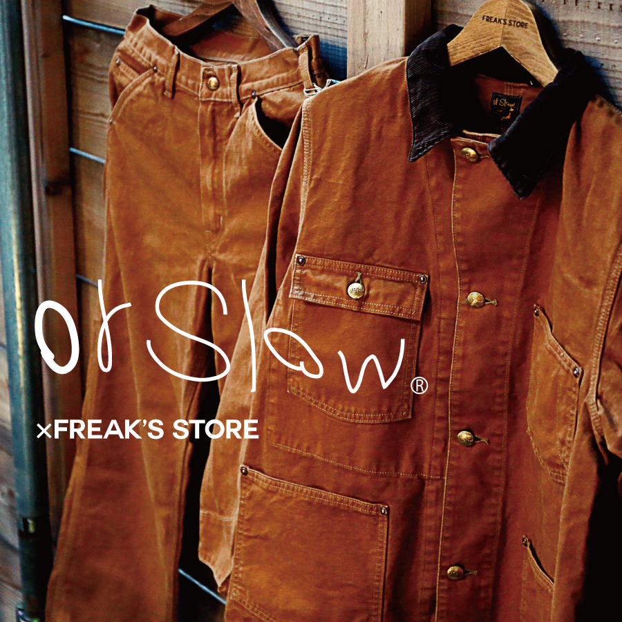 orSlow × FREAK'S STORE | BROWN DUCK SET UP
